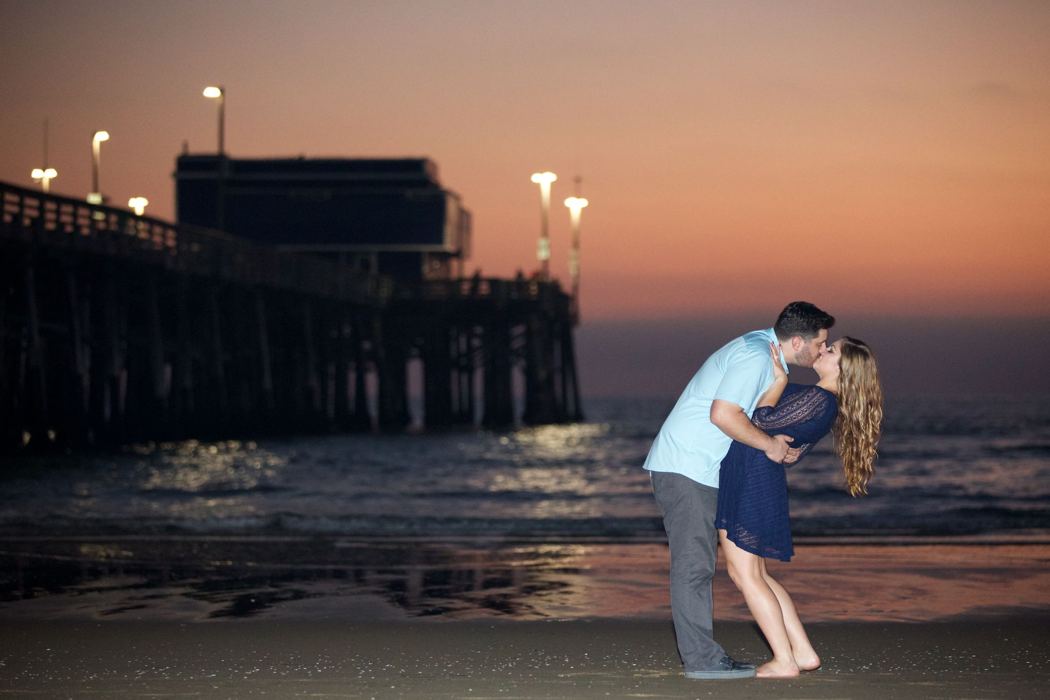 Engagement photography Newport Beach