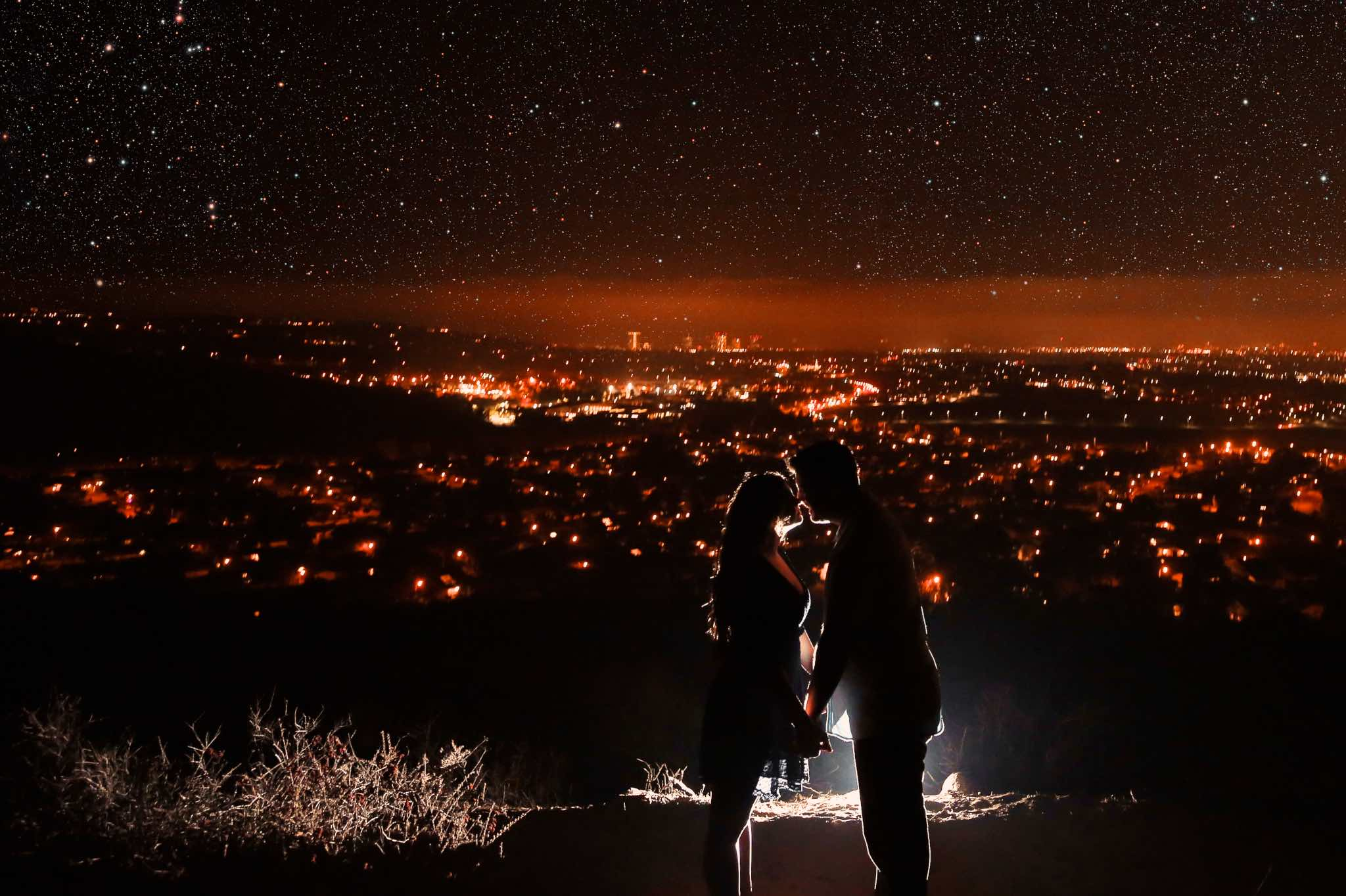 Engagement photography in Irvine Turtle Rock