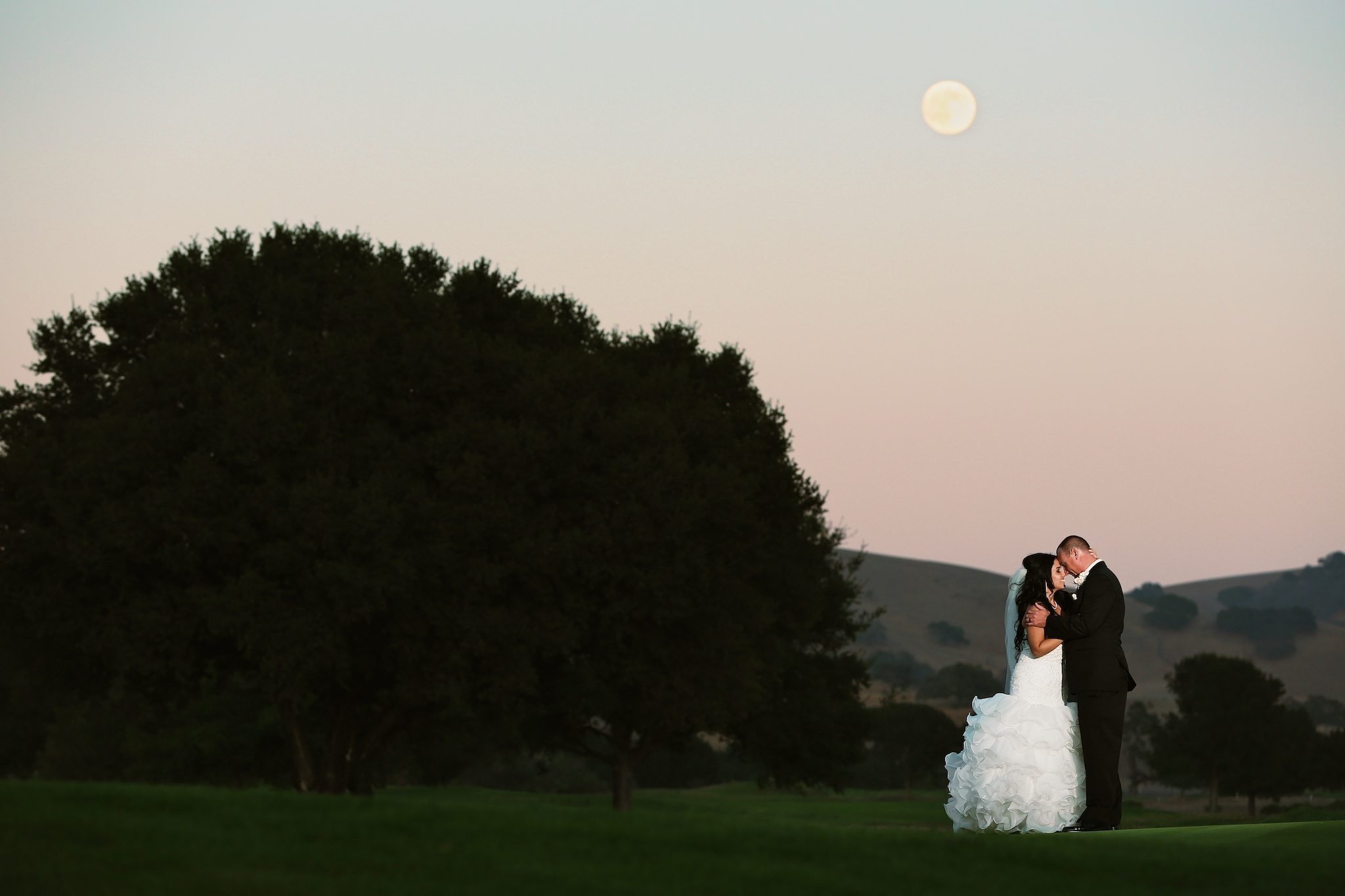 San Juan Oaks wedding photo