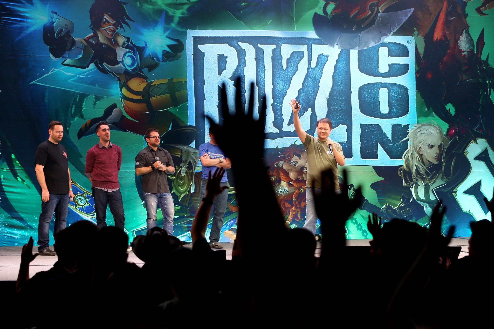 Blizzcon live performance  photography