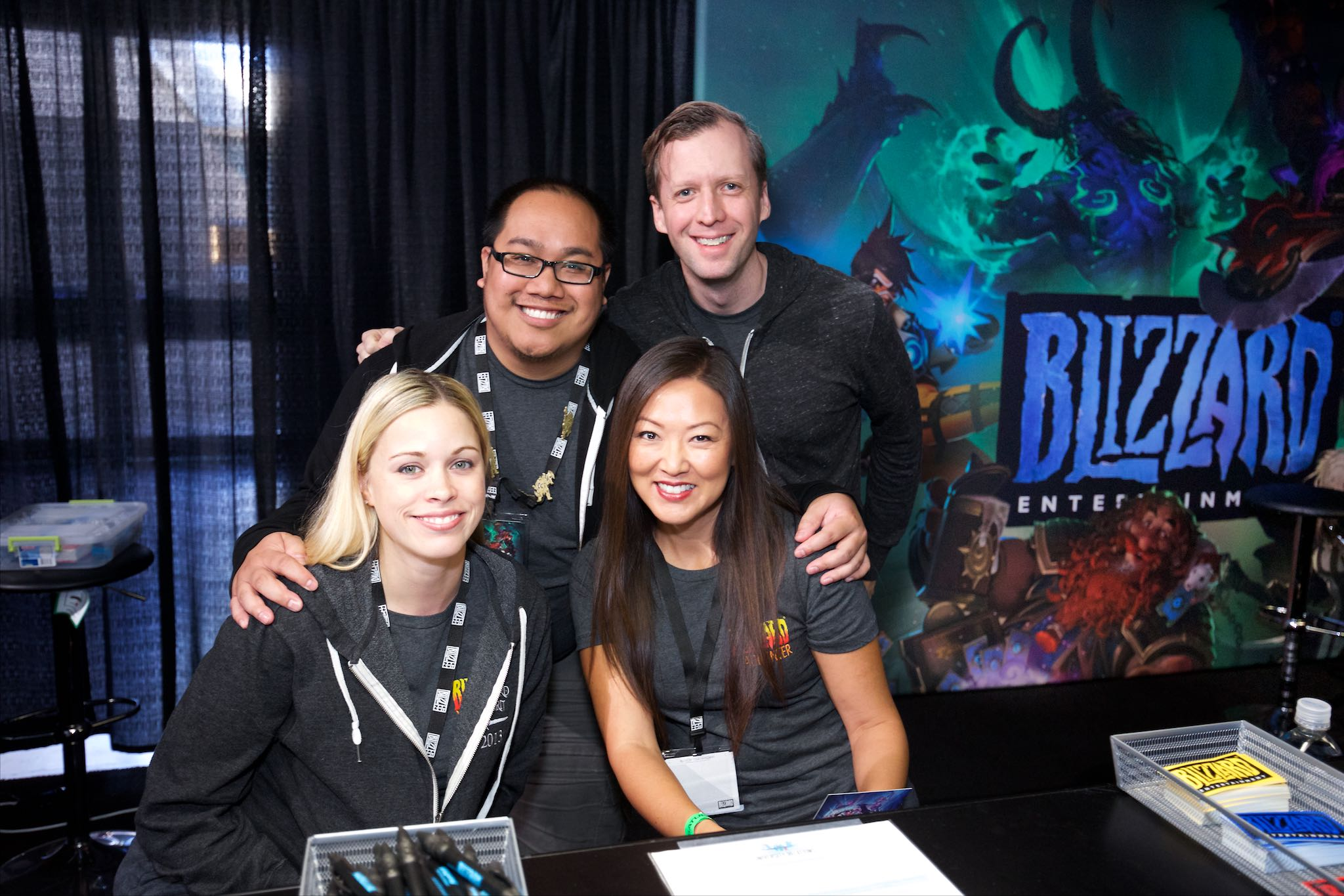 Anaheim convention center Blizzcon signing